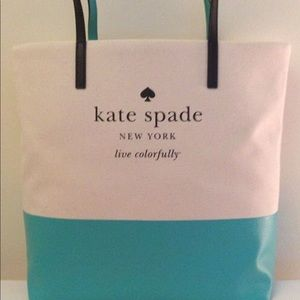 Authentic Kate Spade Basin View Bon Shopper Tote